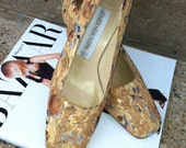 Beautiful Brocade Shoes