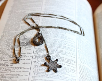 Vintage Charms Western Theme Necklace