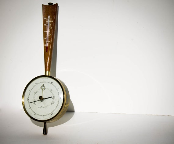 Wall Mounted Barometer 1956 Airguide Instruments