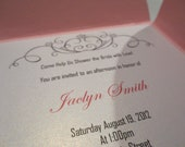 Petalfold Bridal Shower Invitations