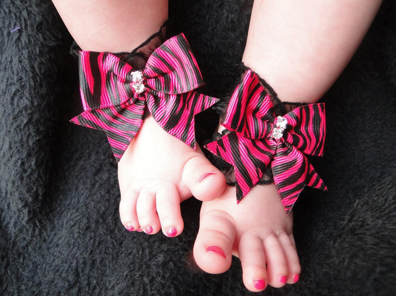 Black newborn sandals -  Zoom