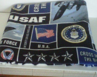 Air Force Fleece Blanket
