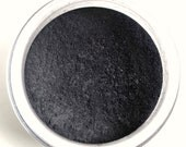 Inked . Matte Mineral Eyeshadow . Loose Mineral Makeup . Smokey Eye . Black Eyeliner . Natural Makeup