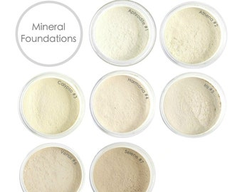SAMPLE Mineral Foundation . Choose your Coverage & Shade