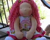 Waldorf inspired doll, Gabriella, CUSTOM ORDER for Reena