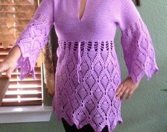 SALE Lacy tunic