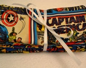 Comic Hero Cloth Baby Wipes-Set of 8 Cotton Flannel