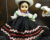 Vintage Madame Alexander Mexico International Doll