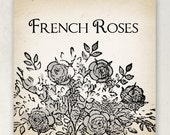 ETSY  BANNERS French Roses Etsy Shop Banner Set