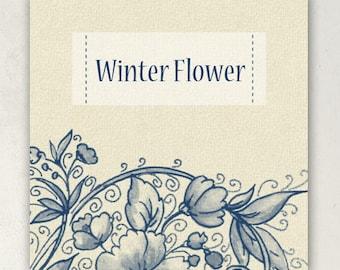 ETSY BANNER SET Winter Flower