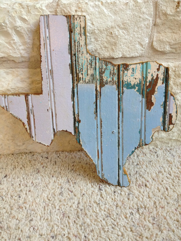 antique wood texas wall art. Black Bedroom Furniture Sets. Home Design Ideas