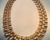 Womens Vintage Gold Chain Necklace