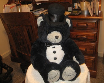 New Years Teddy Bear 2000