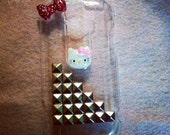 My Touch 4G Slide studded Hello Kitty Case