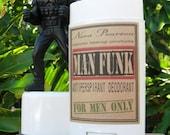 ON SALE!  30% OFF!  Fresh Cut Grass - Man Funk All Natural Deodorant 2oz