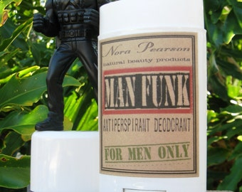 Man Funk All Natural Deodorant 2oz - Bergamot & Tobacco