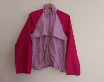 80s vintage women's large LL Bean windbreaker lavender