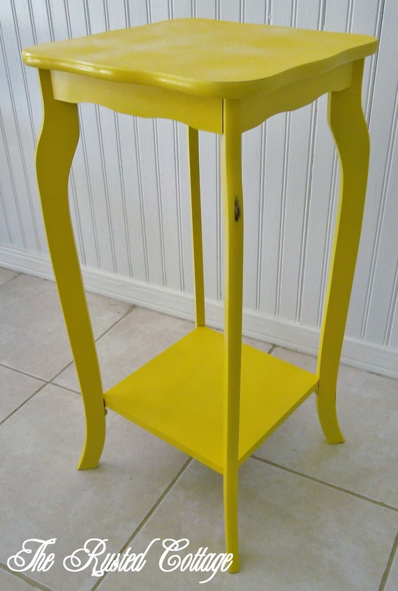 Small Yellow Table