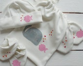 Organic baby accessories - the big kiss