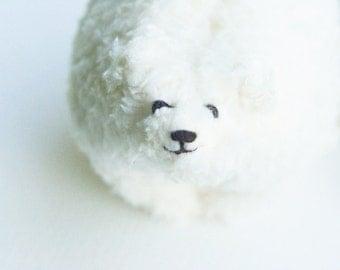 White Polar Bear Plush Toy, Stuffed toy Bear