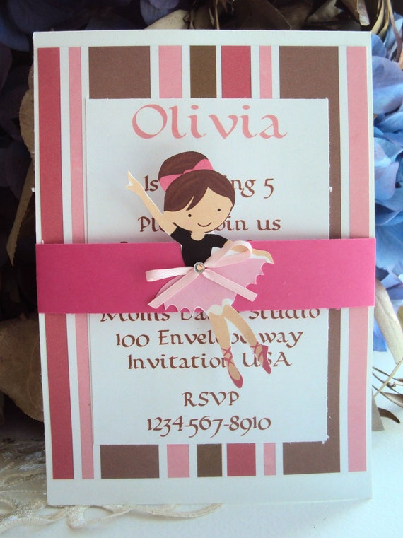 Tutu Invitations For Baby Shower is best invitation sample
