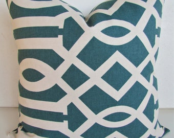 TURQUOISE Pillows Teal Pillows Blue Throw Pillow Covers