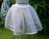 1950's Style Rockabilly Pink Net Petticoat by Petticoat Jane