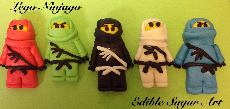 Fondant Lego Ninjago Cake Topper
