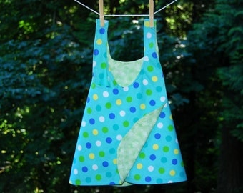 Reversible Cotton Sundress 18 - 24 Months - READY TO SHIP