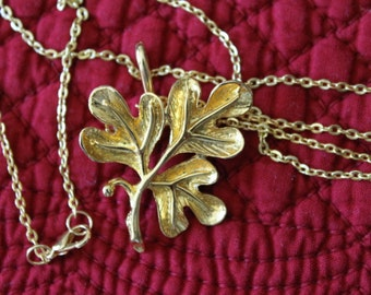 Three Gold Leaves