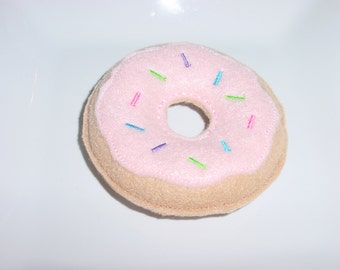 Felt Food - Donut with Pink Icing & Spinkles Felt Play Food