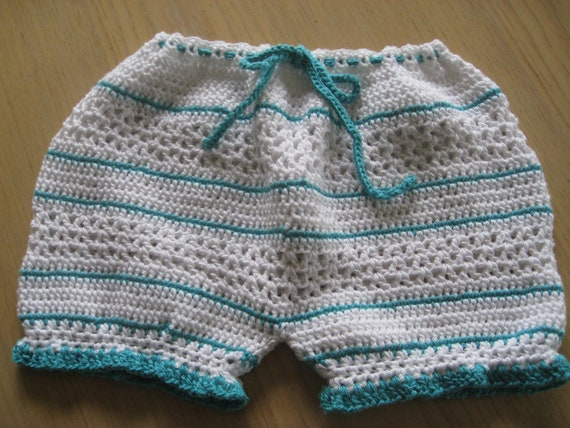 Free Crochet Pattern For Baby Diaper Soaker : Crochet Pattern for Bloomers Diaper Cover by ...