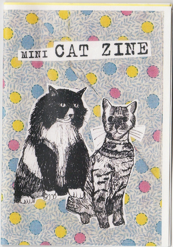 Mini Cat Zine
