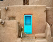 Taos Pueblo photograph - decorative photography print - wall art - home decor - Native American architecture - HDR  -  multiple sizes