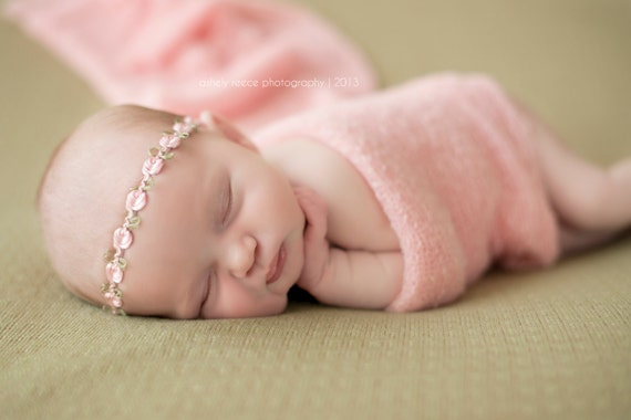 ideas for newborn photo props - Newborn Headband Newborn Halo Floral Baby Headband Dainty