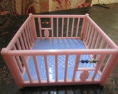 Vintage Acme Renwal Dollhouse Playpen