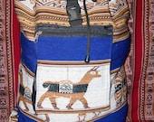 Peruvian Design Backpacks and Duffel-Bags.