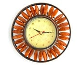 Vintage Beaded Clock : CE No Jewels