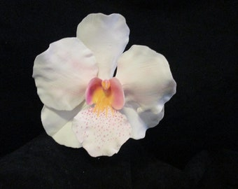 orchid cake topper singapore orchid vanda orchid gumpaste sugar flowers edible wedding bridal keepsake