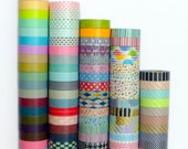 MT washi tape sampler, group A - Choose 3 patterns