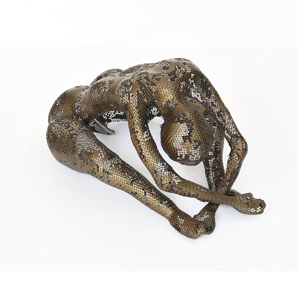 Metal Nude Sculpture Bronze Man Sculpture statue statuette