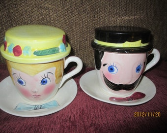 Mom & Pop Relco tea/coffee cup and saucer
