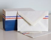 Vintage Air Mail pack of 28 4 x 6 envelopes