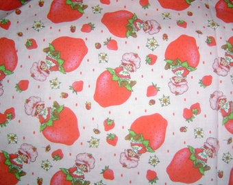 Hand Crafted Strawberry Shortcake In Strawberries Print Pillow