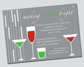 Christmas Invitation: Bright Spirits Holiday Party
