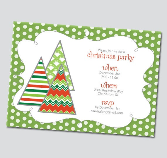 Smart image with printable holiday invitation