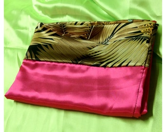 Pink-Jungle Nights Pillow Case