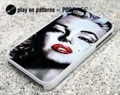 Marilyn Monroe iPhone 4s case iPhone 4 case iPhone 5 case iPhone 5s case iPhone 5c case Samsung Galaxy S4 - marilyn monroe