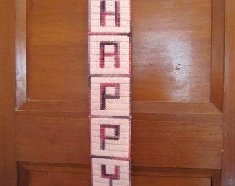 HAPPY - Banner/Sign
