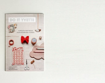 """DIY book """"Do It Yvette"""" - fashion, accessories and home decor craft do it yourself projects"""